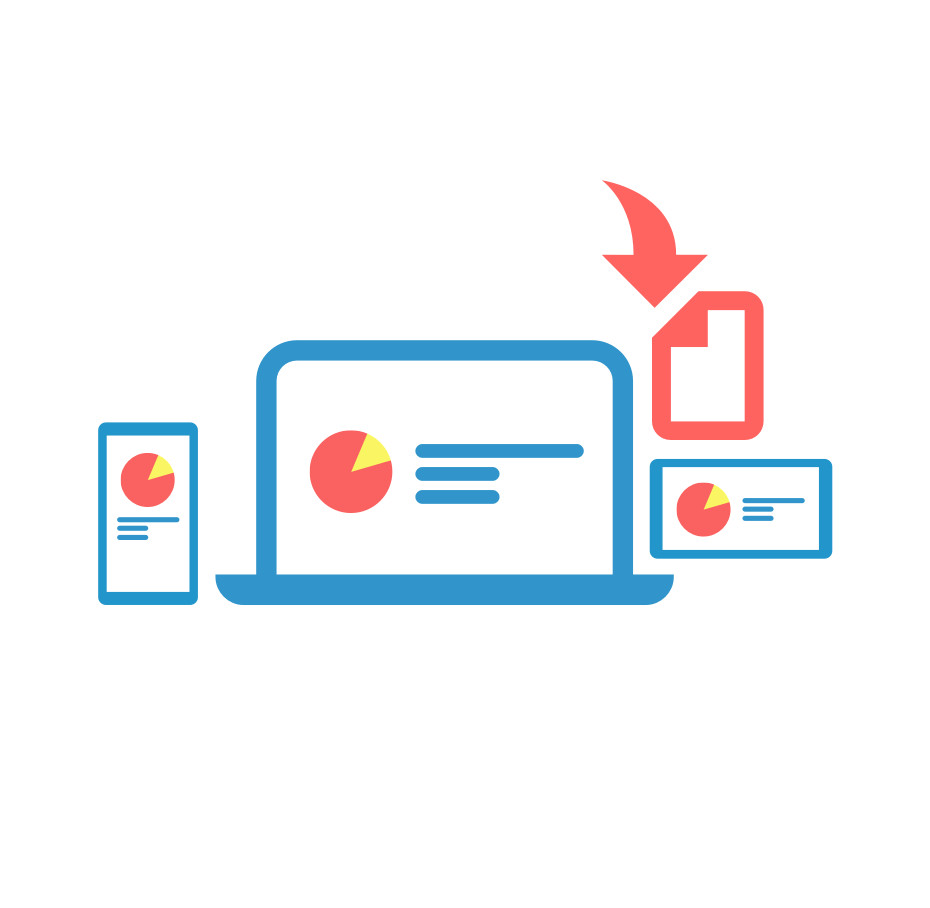 Comparte e inserta gráficos e infografías en vivo en cualquier página web