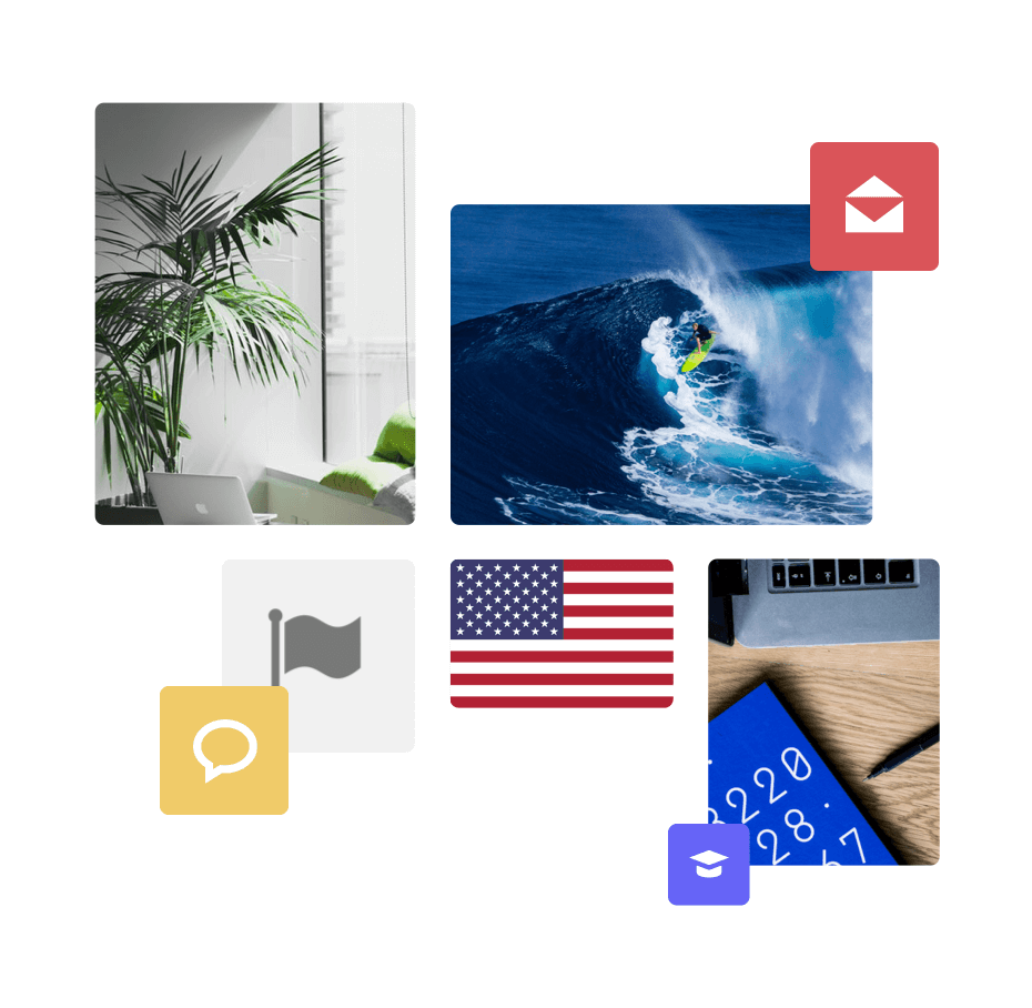 1 million ready-to-use images, icons and flags