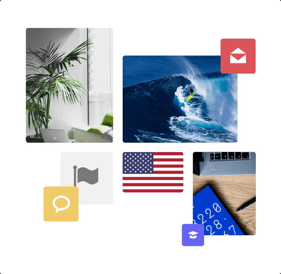 1 millón de imágenes listas para ser usadas, iconos y banderas